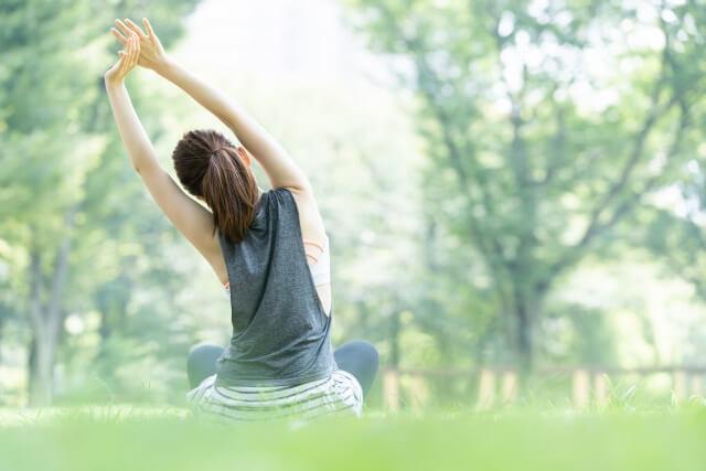 健康な女性のイメージ画像